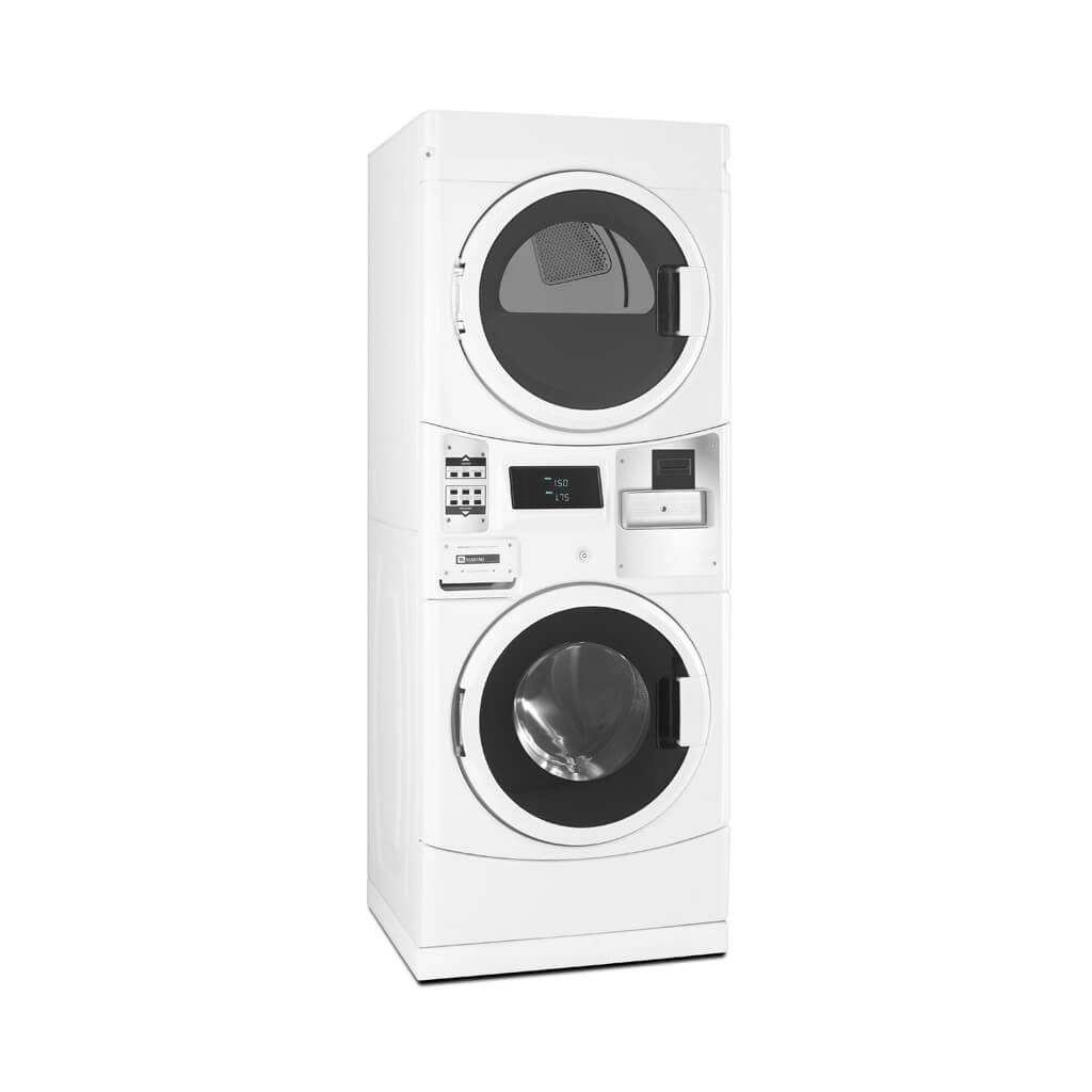 Commerical Washer For Home ~ Mle g pn stack washer dryer