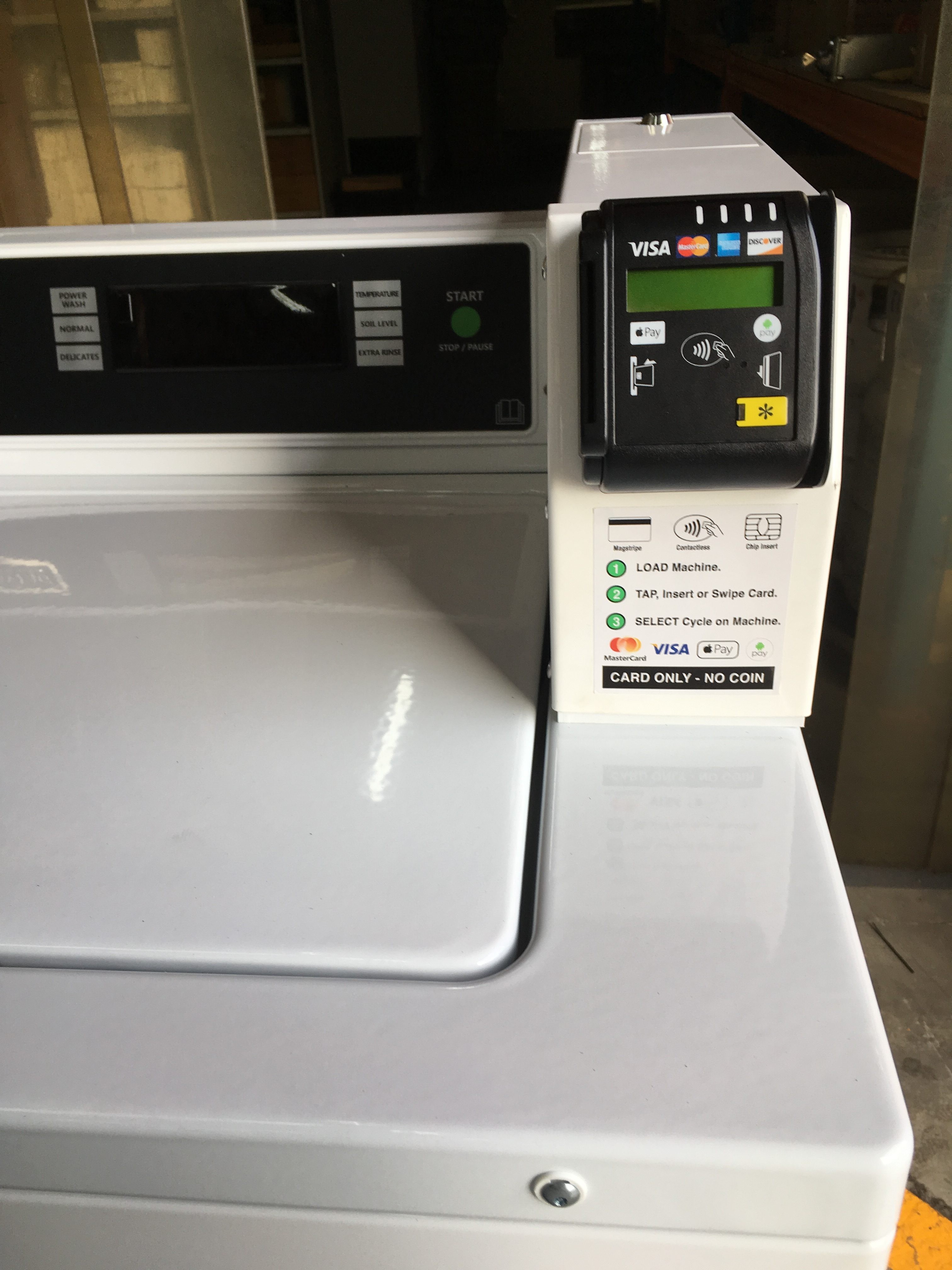 Credit Card Operated Laundry Setup Australia | Dependable